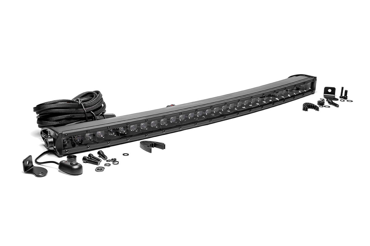 30-inch Black Series Single Row Curved CREE LED Light Bar<br>Fits: Anywhere You Can Mount It