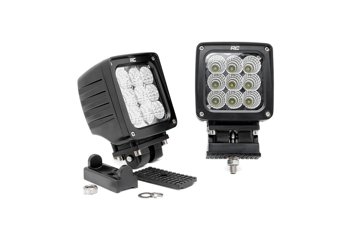 4-inch CREE LED Square Lights (Pair)<br>Fits: Anywhere You Can Mount It