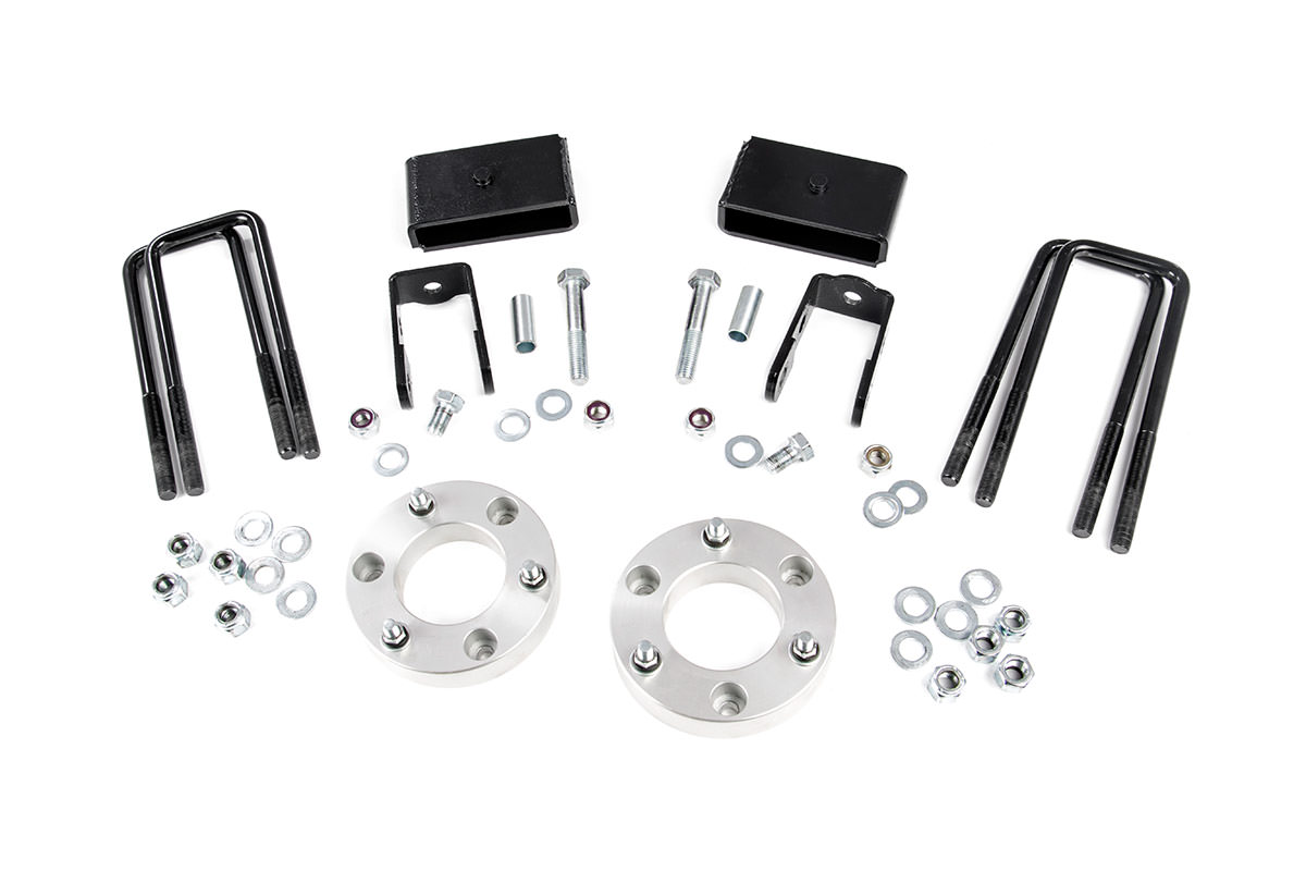 2-inch Suspension Leveling Lift Kit<br>Fits: Nissan: 16-16 Titan XD 4WD