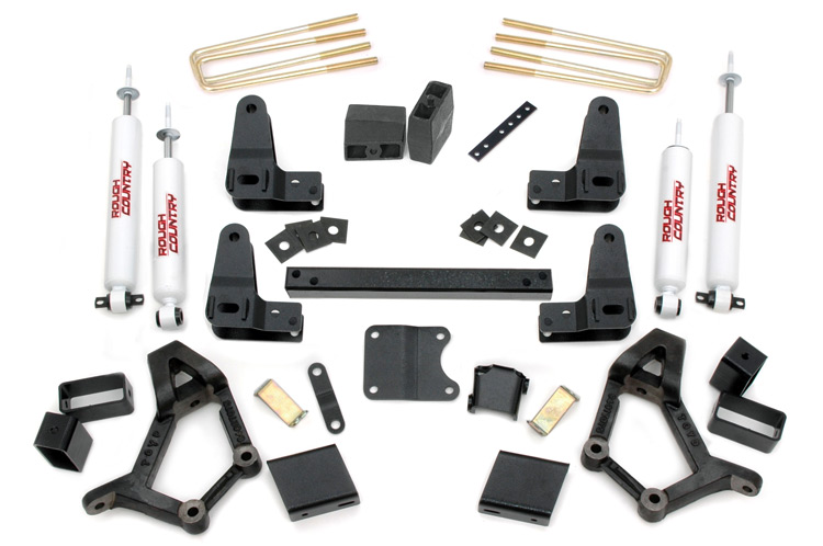 4-5-inch Suspension Lift Kit, Fits: Toyota: 86-89 4Runner 4WD 86-95 Pickup  4WD