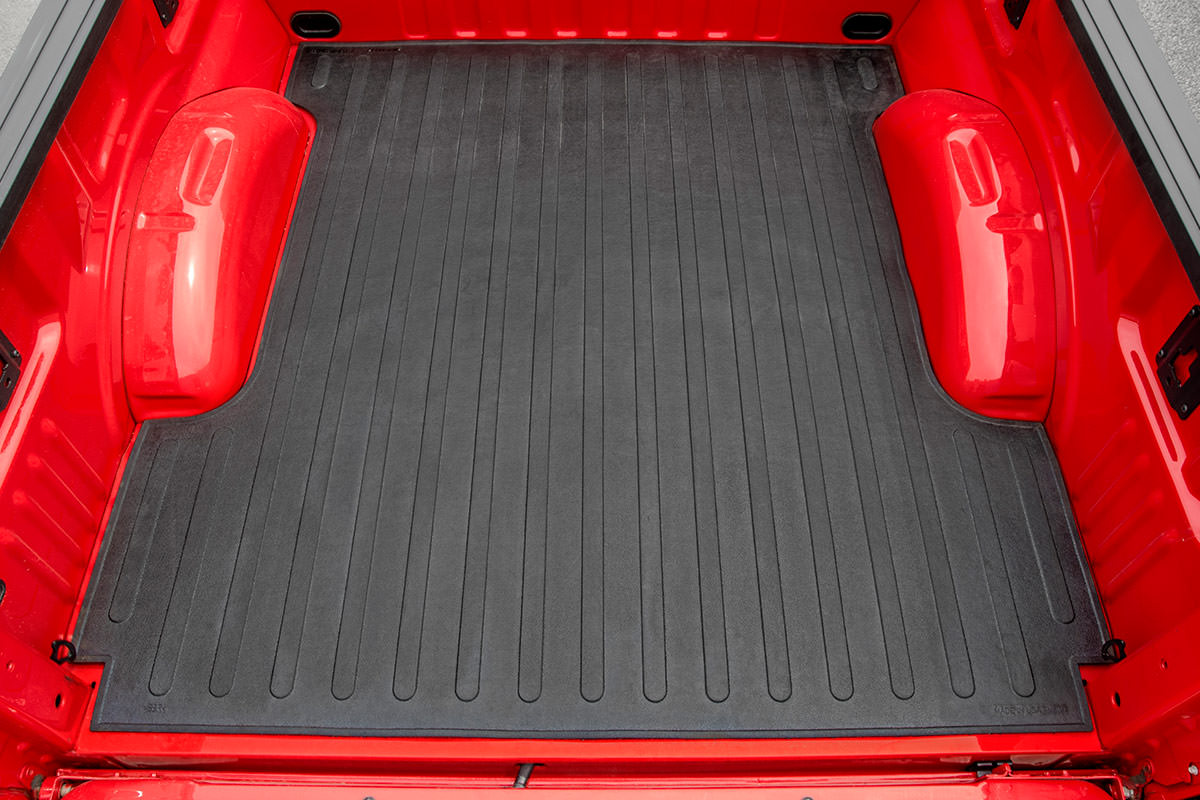 Contoured Rubber Bed Mat (8-foot Beds)<br>Fits: Ford: 99-16 F250 Super Duty 4WD/2WD 99-16 F350 Super Duty 4WD/2WD