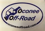 Oconee Off-Road Oval Sticker